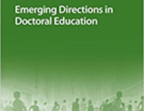 Emerging Directions in Doctoral Education